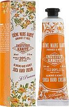 Parfums et Produits cosmétiques Crème Amande et Miel pour mains - Institut Karite Almond And Honey Hand Cream