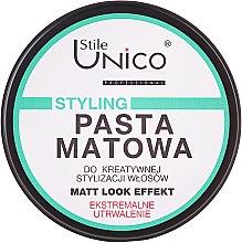 Parfums et Produits cosmétiques Pâte coiffante matifiante, fixation extra forte - Tenex Stile Unico Pasta