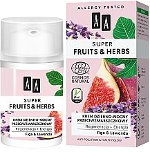 Parfums et Produits cosmétiques Crème à l'huile d'olive et beurre de cacao pour visage - AA Super Fruits & Herbs