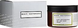 Parfums et Produits cosmétiques Crème de jour et nuit au jus d'aloès - Beaute Mediterranea Aloe Moisturizing Day And Night Cream