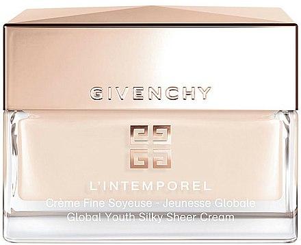 Crème à l'acide hyaluronique pour visage - Givenchy L'Intemporel Global Youth Silky Sheer Cream