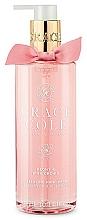 Parfums et Produits cosmétiques Gel lavant pour mains, Pivoine et orchidée rose - Grace Cole Peony & Pink Orchid Liquid Hand Soap