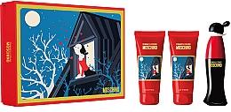 Parfums et Produits cosmétiques Moschino Cheap and Chic - Coffret (eau de toilette/50ml + gel douche/100ml + lotion corporelle/100ml)