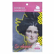 Parfums et Produits cosmétiques Masque tissu en deux étapes à l'extrait de choufleur pour visage - Oerbeua So Elegant Mask Sheet