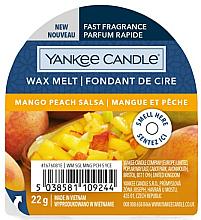 Parfums et Produits cosmétiques Cire parfumée pour lampe aromatique Mangue et Pêche - Yankee Candle Wax Melt Mango Peach Salsa
