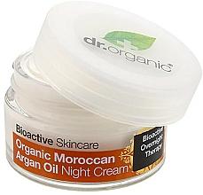 Parfums et Produits cosmétiques Crème de nuit à l'huile d'argan - Dr. Organic Bioactive Skincare Organic Moroccan Argan Oil Night Cream