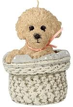 Parfums et Produits cosmétiques Bougie parfumée chien, 11x17 cm, beige - Artman Dog