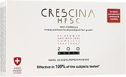 Parfums et Produits cosmétiques Traitement anti-chute 200, 20 ampoules - Crescina Re-Growth HFSC Formula 100%