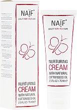 Parfums et Produits cosmétiques Crème nourrissante à l'huile de coton naturel pour le bébé - Naif Nurturing Cream