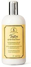 Parfums et Produits cosmétiques Taylor of Old Bond Street Sandalwood Luxury Hair Conditioner - Après-shampooing au bois de santal