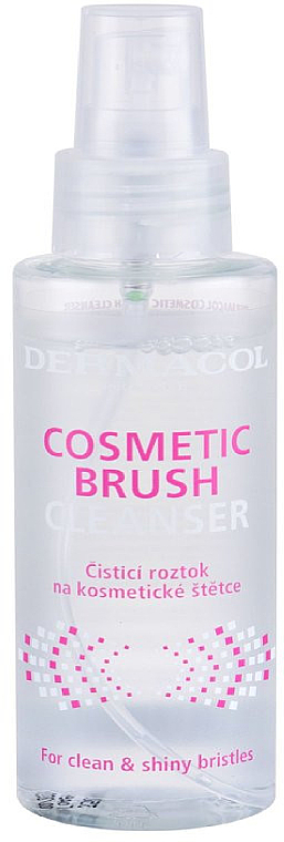 Nettoyant pour pinceaux de maquillage - Dermacol Brushes Cosmetic Brush Cleanser