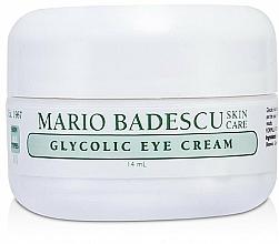 Parfums et Produits cosmétiques Crème à l'acide glycolique contour des yeux - Mario Badescu Glycolic Eye Cream