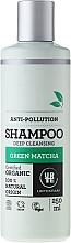 Parfums et Produits cosmétiques Shampoing nettoyant en profondeur, Matcha vert - Urtekram Green Matcha Shampoo