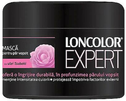 Masque à l'huile de tsubaki pour cheveux - Loncolor Expert