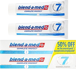 Parfums et Produits cosmétiques Dentifrice - Blend-a-Med Complete Protect 7 Crystal White Toothpaste