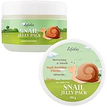 Parfums et Produits cosmétiques Masque au filtrat de bave d'escargot pour visage - Esfolio Snail Shape Memory Jelly Pack