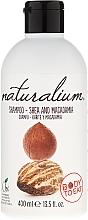 Parfums et Produits cosmétiques Shampooing au beurre de karité et macadamia - Naturalium Shea & Macadamia Shampoo