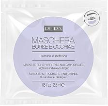 Parfums et Produits cosmétiques Masque illuminateur contour des yeux - Pupa Mask To Fight Puffy Eyes And Dark Circles