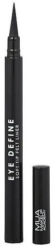 Eyeliner feutre - MUA Eye Define Soft Tip Felt Liner