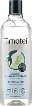 Parfums et Produits cosmétiques Shampooing détoxifiant à l'extrait de concombre - Timotei Detox Fresh Shampoo