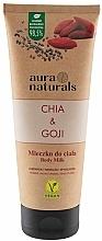 Parfums et Produits cosmétiques Lait pour corps, Chia et Baies de goji - Aura Naturals Chia & Goji Body Milk