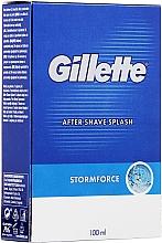 Parfums et Produits cosmétiques Lotion après-rasage - Gillette Blue Storm Force After Shave Splash