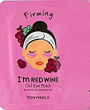 Parfums et Produits cosmétiques Patchs gel raffermissants à l'extrait de vin rouge pour contour des yeux - Tony Moly Red Wine Eye Mask