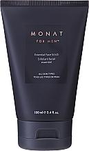 Parfums et Produits cosmétiques Gommage à l'huile d'olive pour visage - Monat For Men Essential Face Scrub