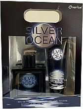Parfums et Produits cosmétiques Omerta Silver Ocean - Set (eau de toilette/100ml + gel douche/100ml)