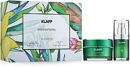 Parfums et Produits cosmétiques Klapp Skin Natural Face Care Set - Coffret cadeau Aloe Vera (masque/50ml + gel/15ml)