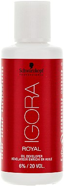 Révélateur enrichi en huile 6% - Schwarzkopf Professional Igora Royal Oxigenta