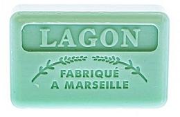 Parfums et Produits cosmétiques Savon végétal de Marseille, Lagon - Foufour Savonnette Marseillaise Lagon