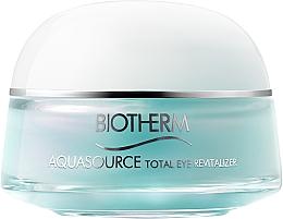 Parfums et Produits cosmétiques Soin yeux effet froid - Biotherm Aquasource Total Eye Revitalizer
