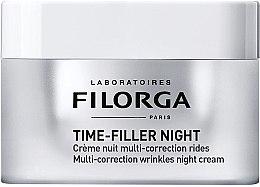 Parfums et Produits cosmétiques Crème nuit multi-correction rides visage - Filorga Time-filler Night Cream