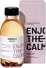Parfums et Produits cosmétiques Huile corporelle relaxante aux pétales de rose - Veoli Botanica Relaxing Body Oil With Rose Petals Enjoy The Calmness