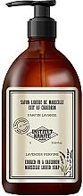 Parfums et Produits cosmétiques Savon liquide de Marseille Lavande - Institut Karite Lavender So Vintage Marseille Liquid Soap