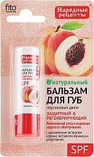 Parfums et Produits cosmétiques Baume à lèvres naturel aux extraits de pêche et d'abricot - FitoKosmetik Recettes folkloriques