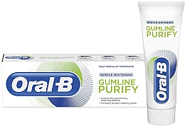 Parfums et Produits cosmétiques Dentifrice blanchissant - Oral-B Gumline Purify Gentle Whitening Toothpaste