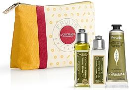 Parfums et Produits cosmétiques L'Occitane Verbena - Set (gel douche/50ml + lait corporel/30ml + gel-crème pour mains/30ml)
