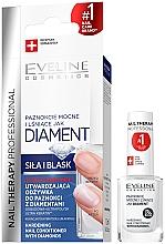 Parfums et Produits cosmétiques Revitalisant pour ongles aux diamants - Eveline Cosmetics Nail Therapy Professional