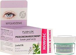 Parfums et Produits cosmétiques Crème anti-rides à l'acide hyaluronique contour des yeux - Floslek