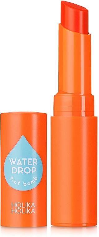 Holika Holika Water Drop Tint Bomb - Rouge à lèvres à l'eau oxygénée de Jeju et extrait de papaye