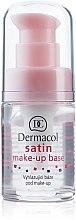 Parfums et Produits cosmétiques Base de maquillage matifiante et lissante - Dermacol Satin Base Make-Up