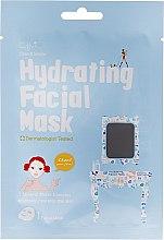 Parfums et Produits cosmétiques Masque tissu à base d'eau et trois minéraux pour visage - Cettua Hydrating Facial Mask