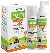 Parfums et Produits cosmétiques Frezyderm Lice Free Set - Set (shampooing/125ml + lotion pour cheveux/125ml)