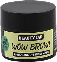 Parfums et Produits cosmétiques Masque à l'huile de macadamia et jojoba pour sourcils - Beauty Jar Wow Brow! Enhancing Eyebrow Mask
