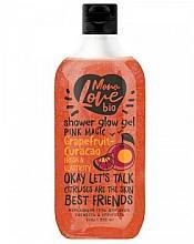 Parfums et Produits cosmétiques Gel douche scintillant à l'extrait de pamplemousse - MonoLove Bio Grapefruit-Curacao Shower Glow Gel
