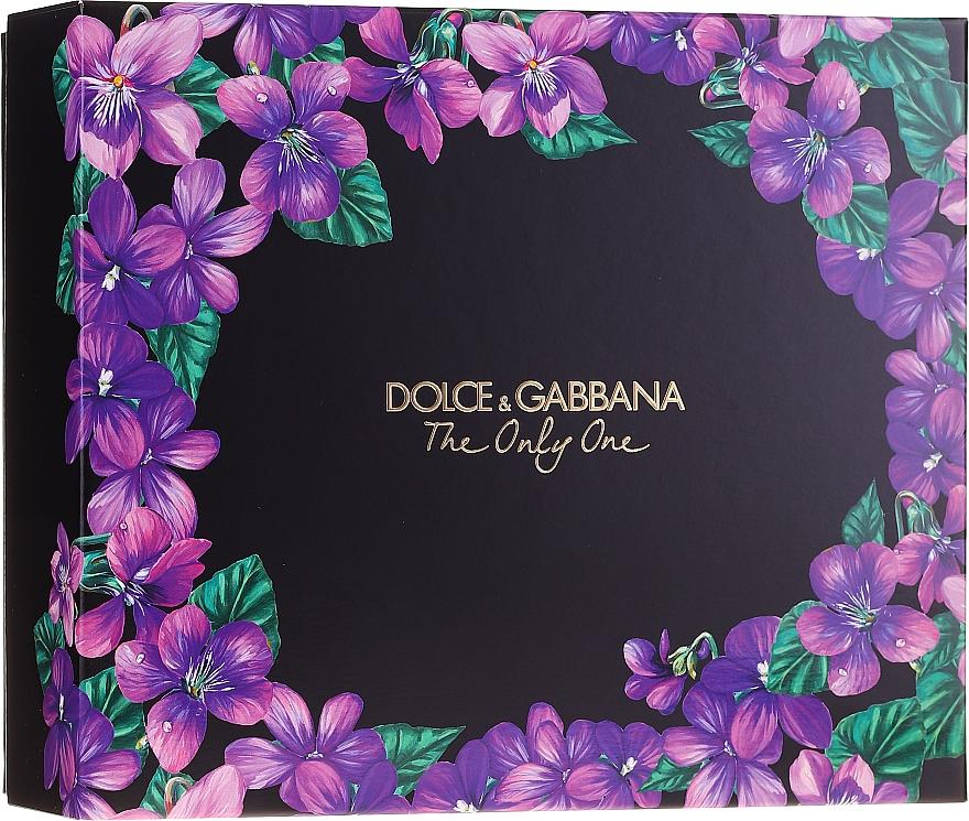 Dolce&Gabbana The Only One - Coffret (eau de parfum/50ml + eau de parfum/10ml) — Photo N1