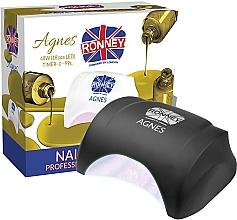 Parfums et Produits cosmétiques Lampe LED, noir - Ronney Profesional Agnes LED 48W (GY-LED-032)