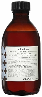 Shampooing aux protéines de lait hydrolysées (tabac) - Davines Alchemic Shampoo — Photo N1
